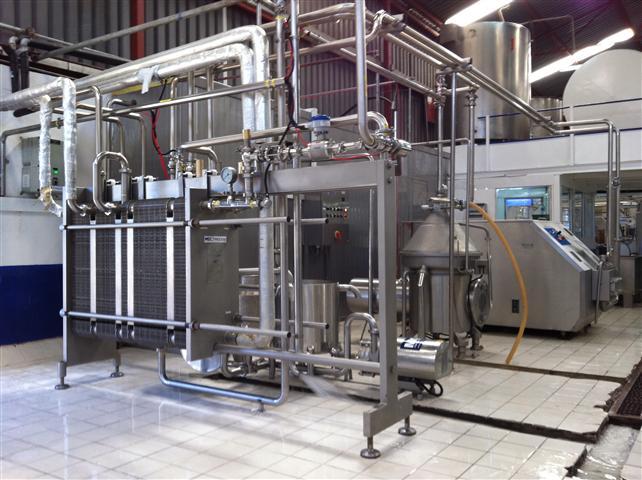 ESL Pasteurizer 8,000 LH in Buzeki